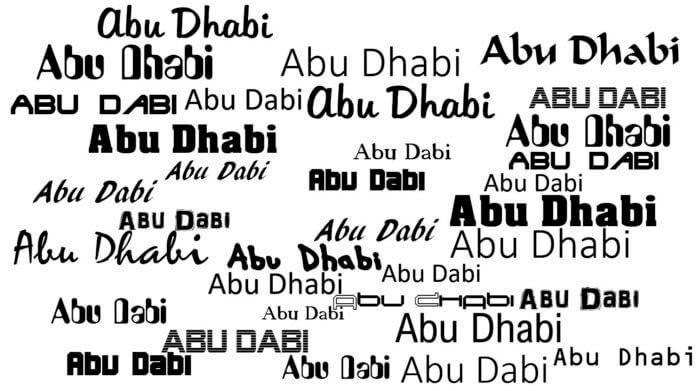 Abu Dabi o Abu Dhab emiratos en espanol ae