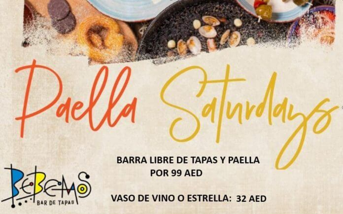 brunch paella saturday bebemos 2