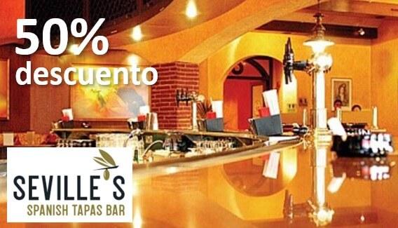 50 descuento restaurante sevilles dubai