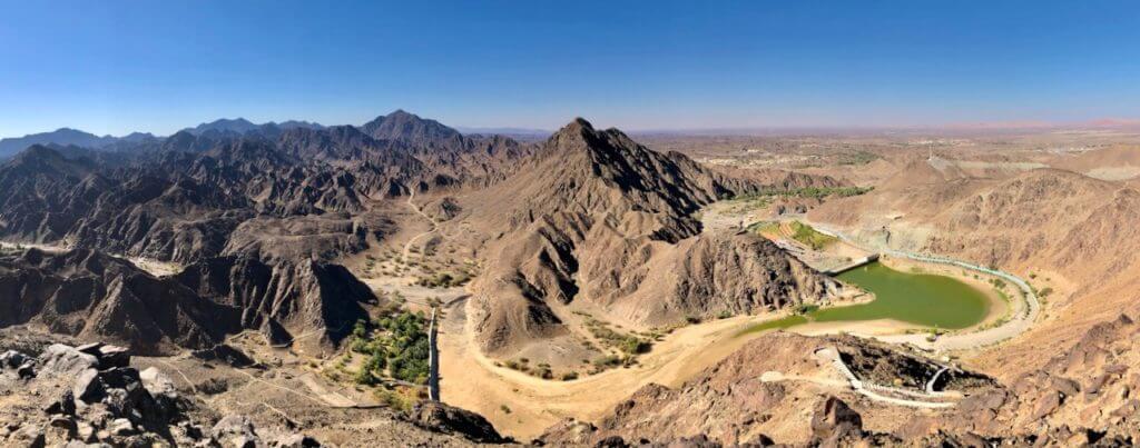 panoramica Shawka excursión wadi vivir dubai