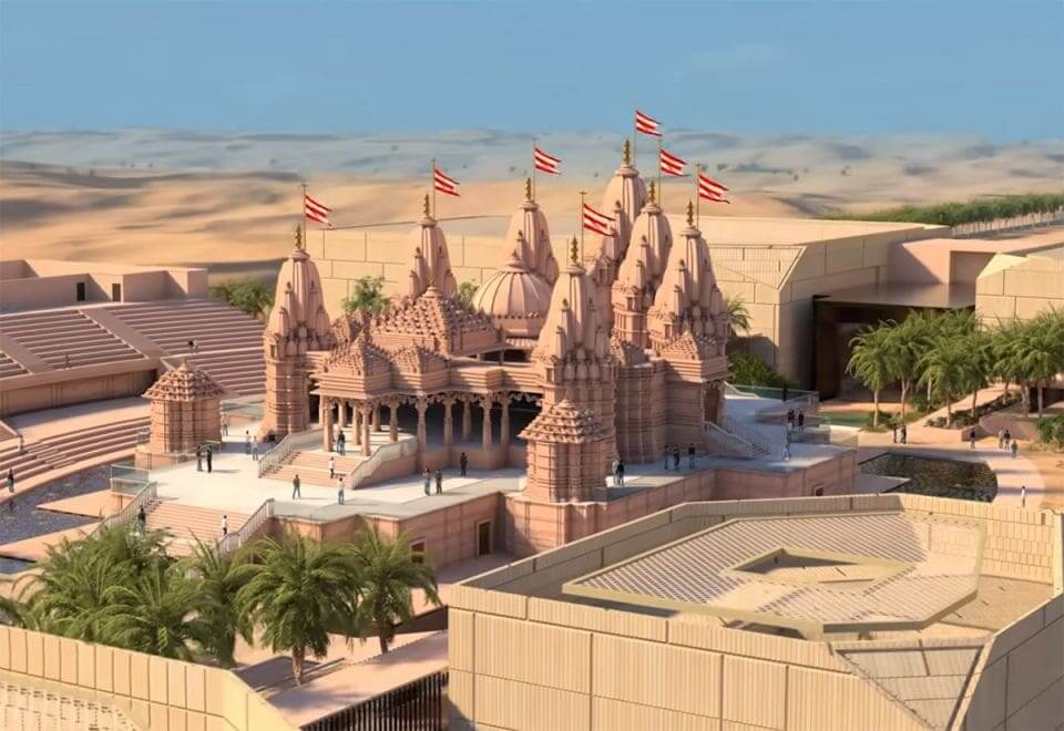 Proyección del templo