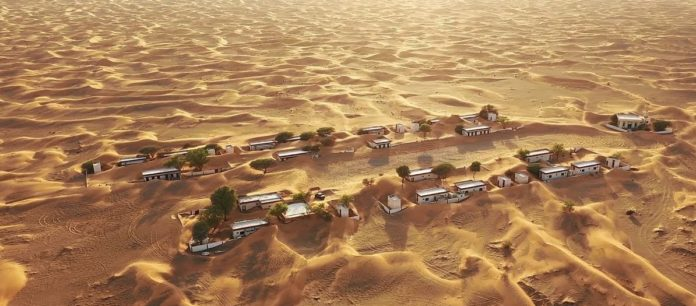 Pueblo fantasma emiratos