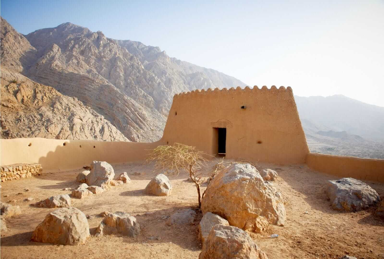 fuerte Dhayah ras al kahimah emiratos