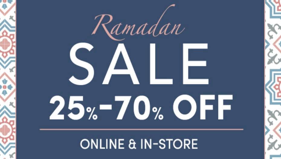 ramadan ofertas descuentos online rebajas