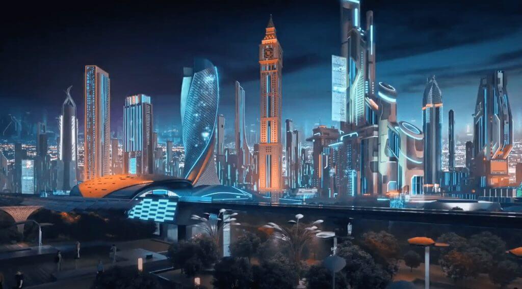 dubai virtual en 2040