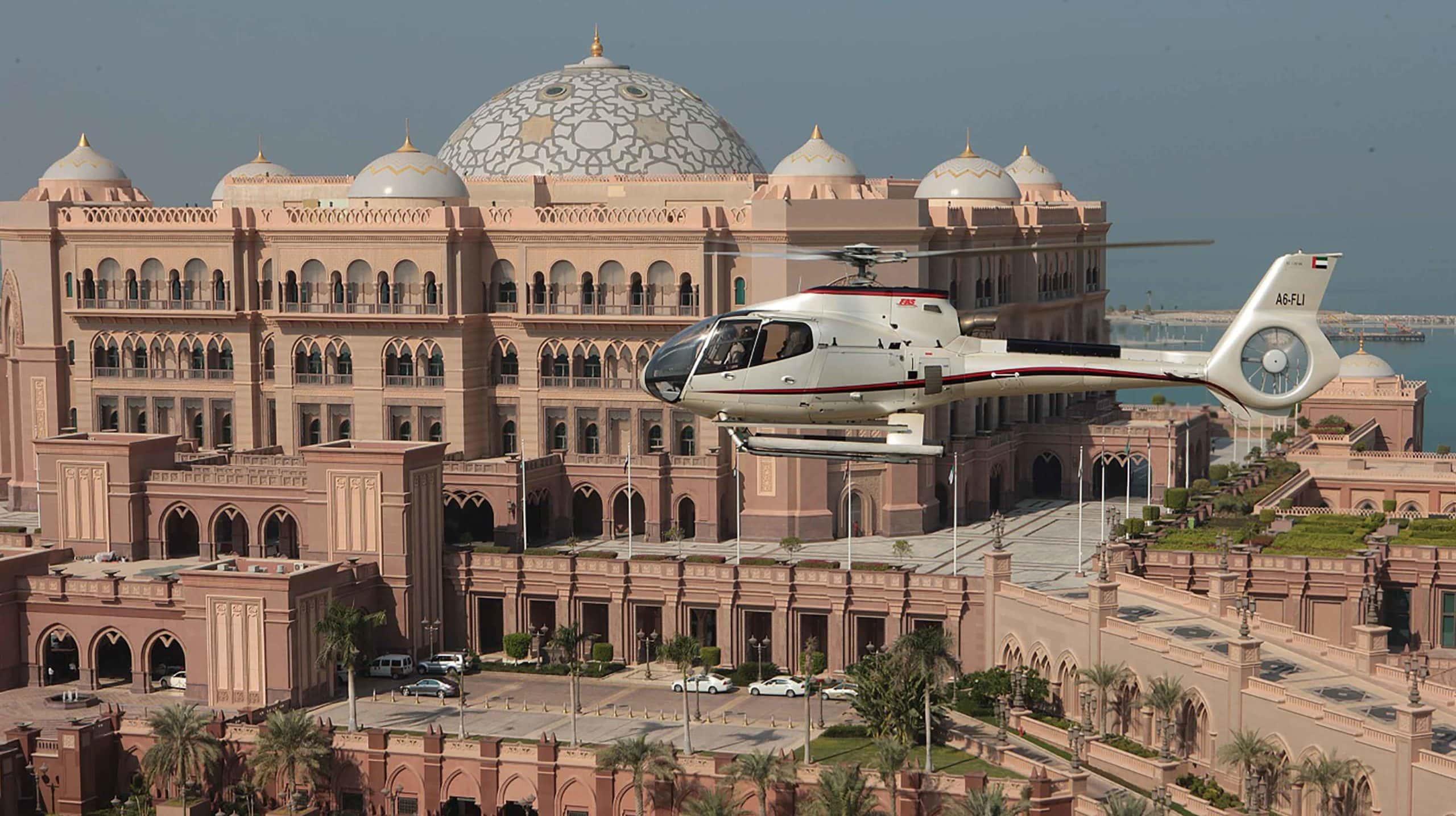helicoptero abu dhabi tour