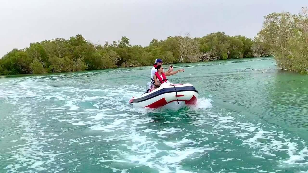 manglares tour abu dhabi visita
