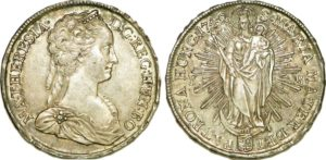 moneda de emiratos maria teresa de austria