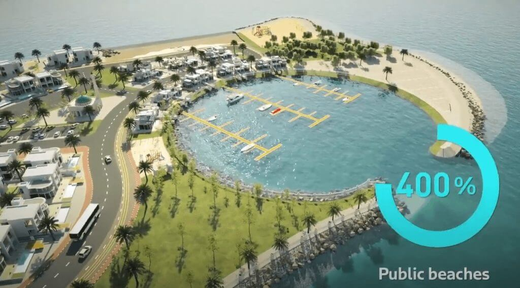 playas dubai aumento plan 2040