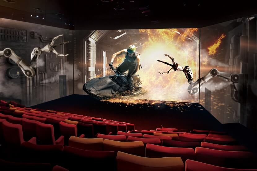 ScreenX dubai cine verano emiratos