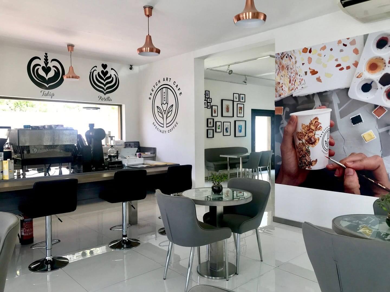 Sketch Art Café dubai emiratos