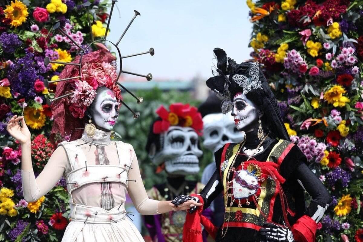 dia de los muertos emiratos expo