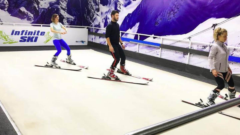 esqui seco dubai verano