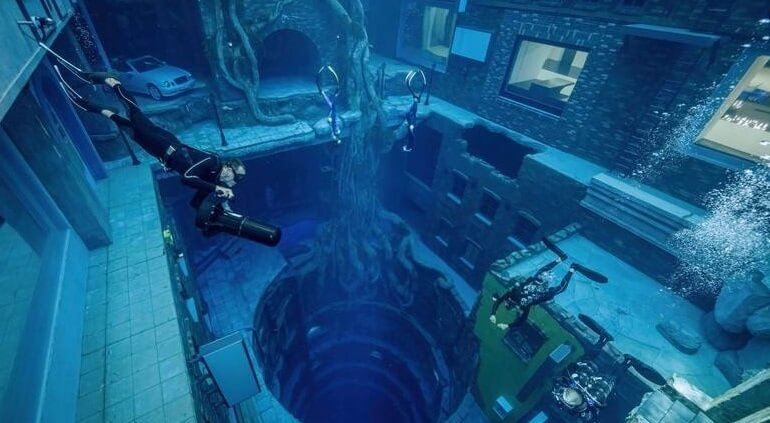fotografia submarina emiratos dubai