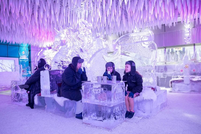 lounge de hielo dubai emiratos