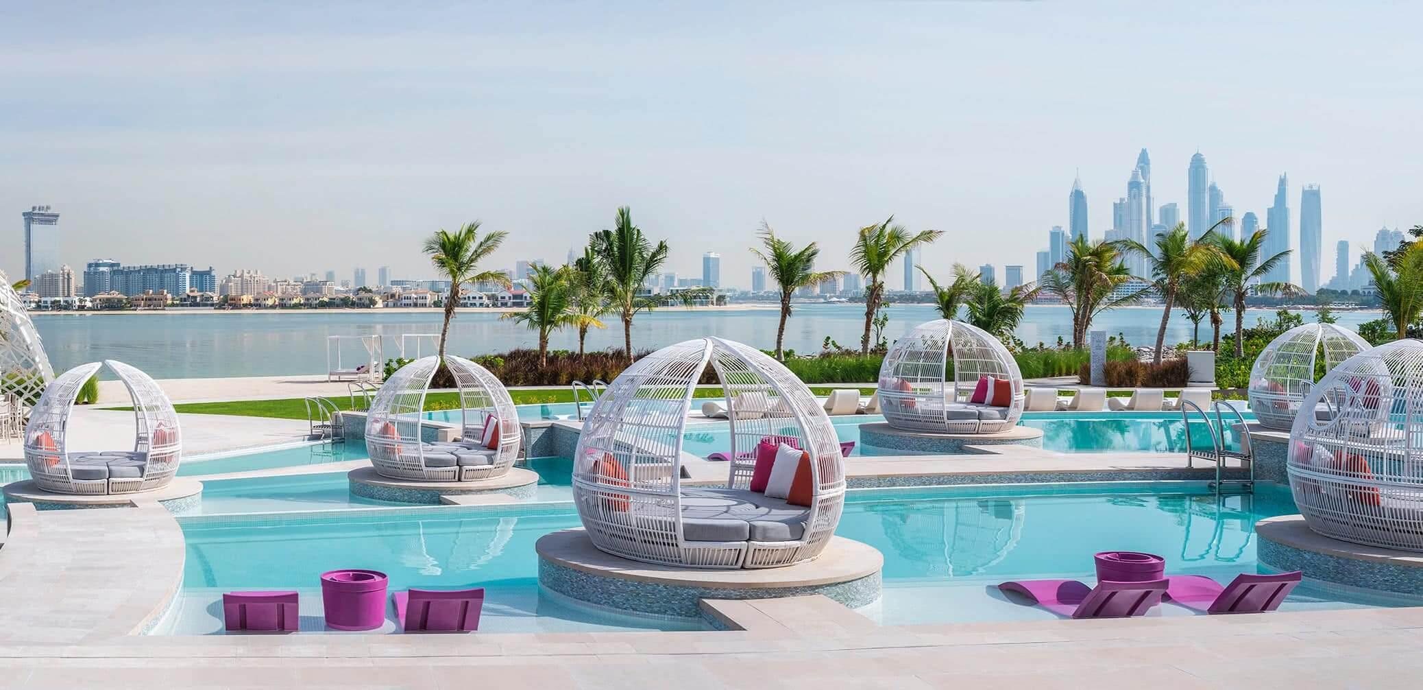 piscina hotel dubai vivirendubai