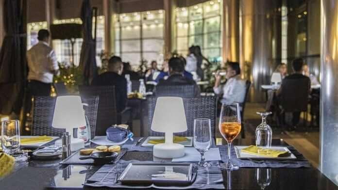 Restaurante Gate 32 Dubai interior