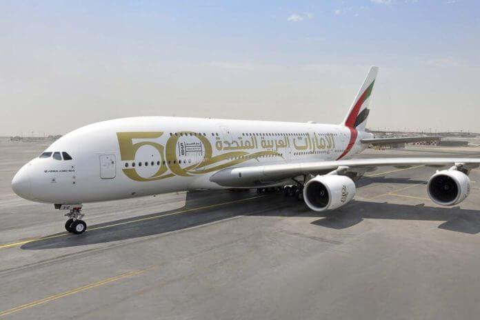 Emirates-50-Aniversario-EAU-A380-arabe-990x660