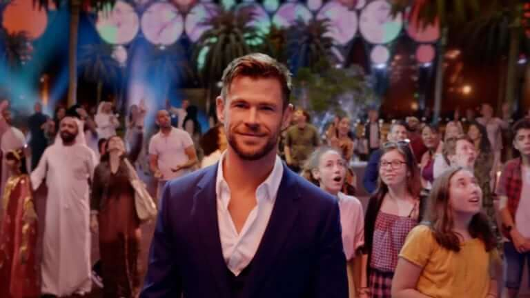 Chris Hemsworth: imagen de la campaña mundial de Emirates para la Expo 2020 de Dubái