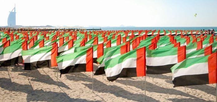 bandera EAU historia colores