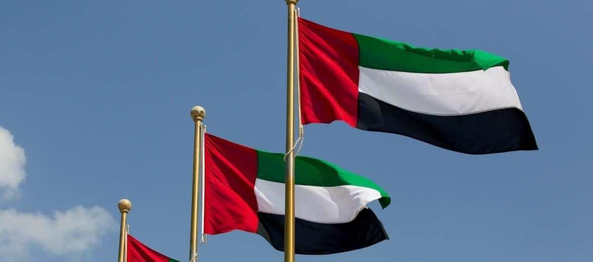 bandera de emiratos vivirendubai