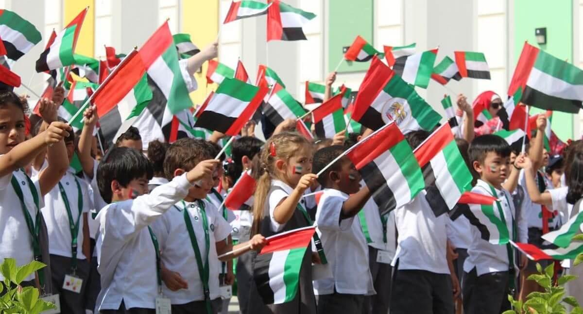 dubai bandera estudiantes